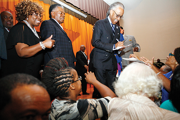 Sharpton visits OIC Center in Rocky Mount