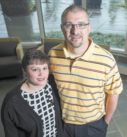 Husband, wife earn advanced nursing degrees