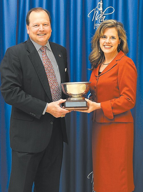 NCC presents President's Cup to Progress Energy