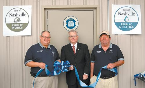 Town of Nashville celebrates new Public Works, Public Utilities facility
