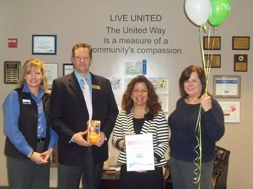 United Way Bronze Award