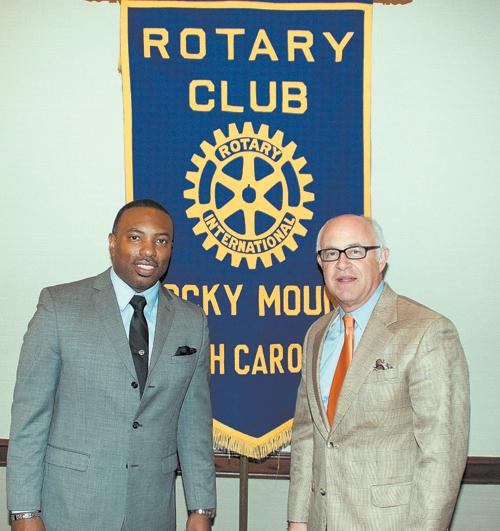 Rocky Mount Rotary Club speaker