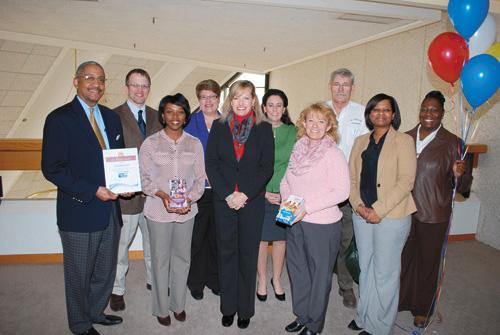 City of Rocky Mount receives United Way's Bronze Award