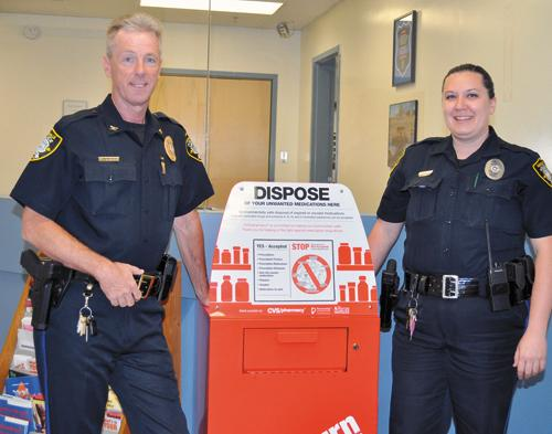 NPD gets drop box for citizens to dispose of meds