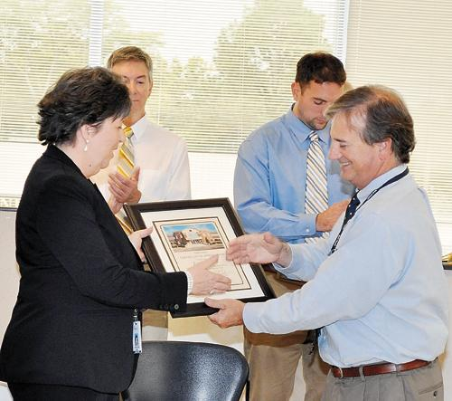 Nash County Finance Director retires