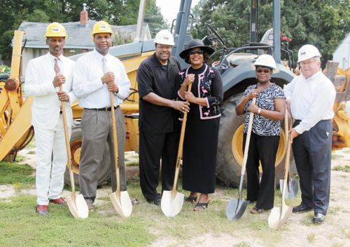 East End holds ground breaking for new sanctuary
