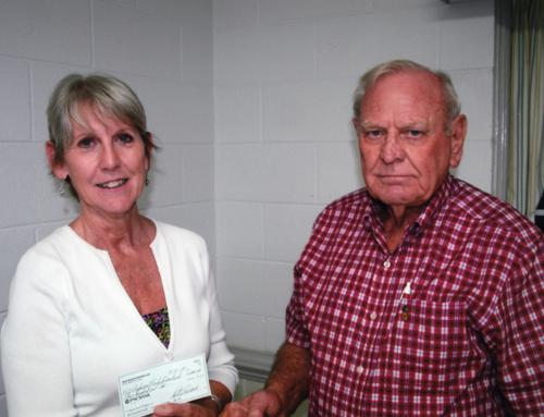 Donation presented