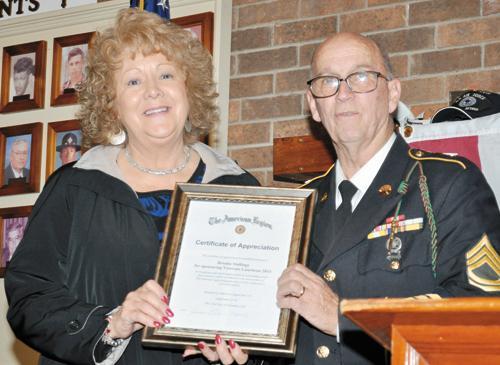 Oak Level Ruritans pay tribute to area veterans
