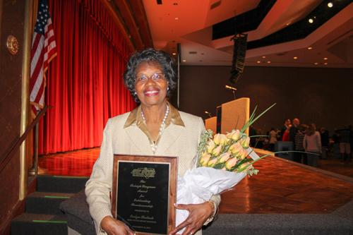Bulluck wins award for role on NRMS Board of Education