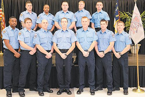 Students graduate from NCC EMS Services Academy
